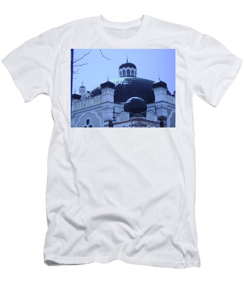 Sofia Synagogue In Bulgaria Men's T-Shirt (Athletic Fit)
