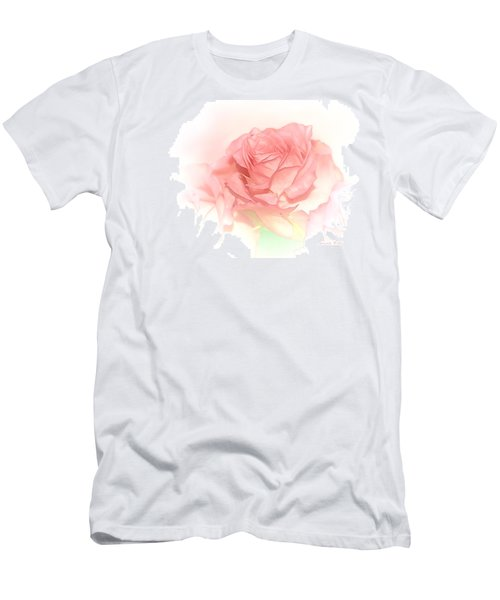 Softly Pink Men's T-Shirt (Athletic Fit)