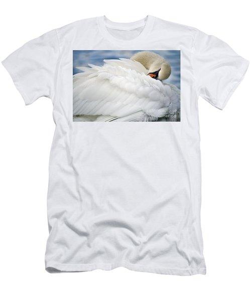 Softly Sleeping Men's T-Shirt (Athletic Fit)