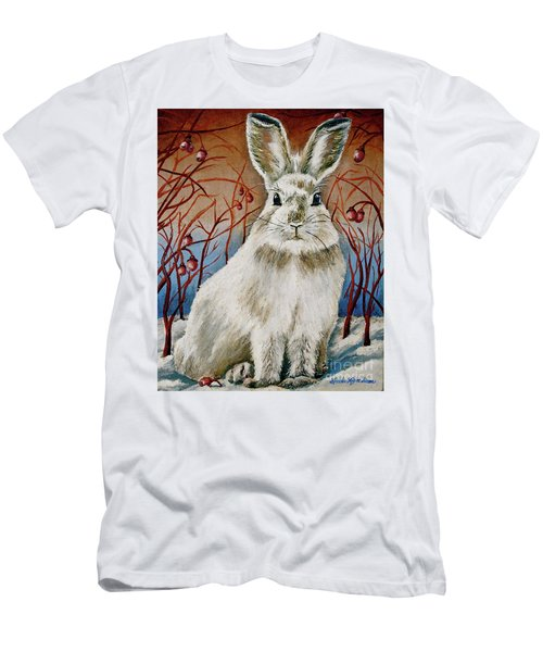 Some Bunny Is Charming Men's T-Shirt (Slim Fit) by Linda Simon