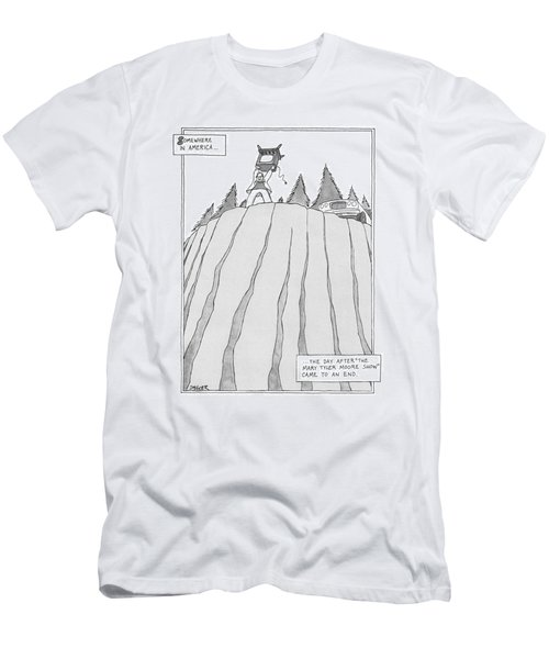 Somewhere In America Men's T-Shirt (Athletic Fit)