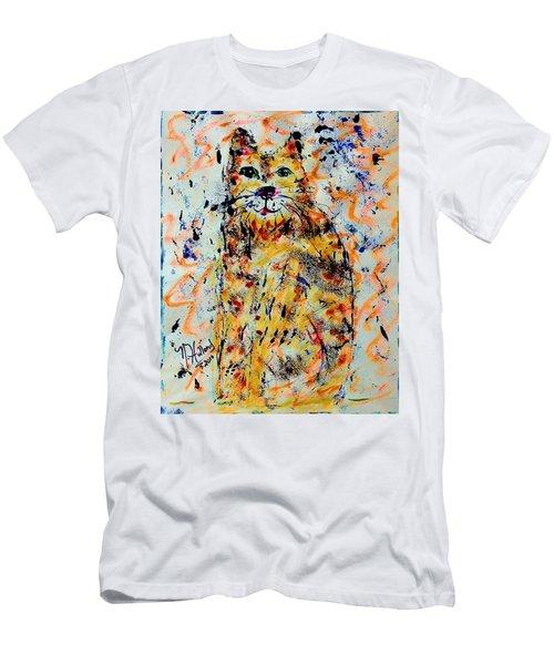 Sophisticated Cat 3 Men's T-Shirt (Athletic Fit)