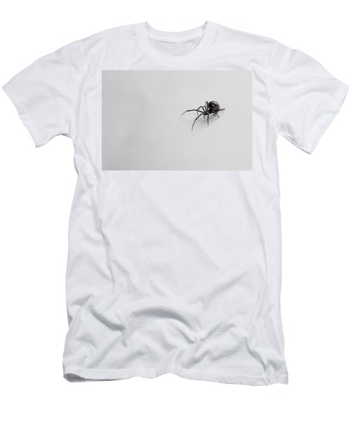 Southern Black Widow Spider Men's T-Shirt (Athletic Fit)