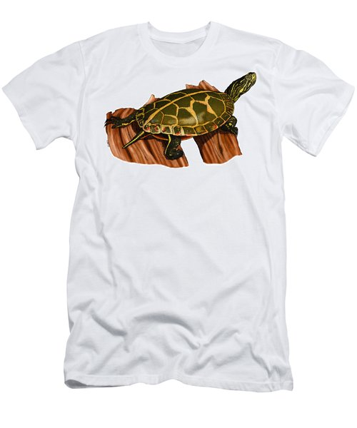 Southern Painted Turtle Men's T-Shirt (Athletic Fit)