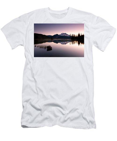 Sparks Lake Sunrise Men's T-Shirt (Athletic Fit)