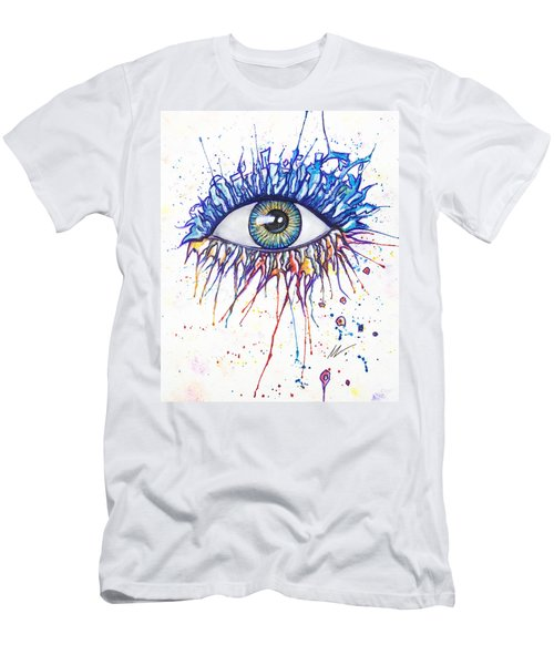 Splash Eye 1 Men's T-Shirt (Athletic Fit)