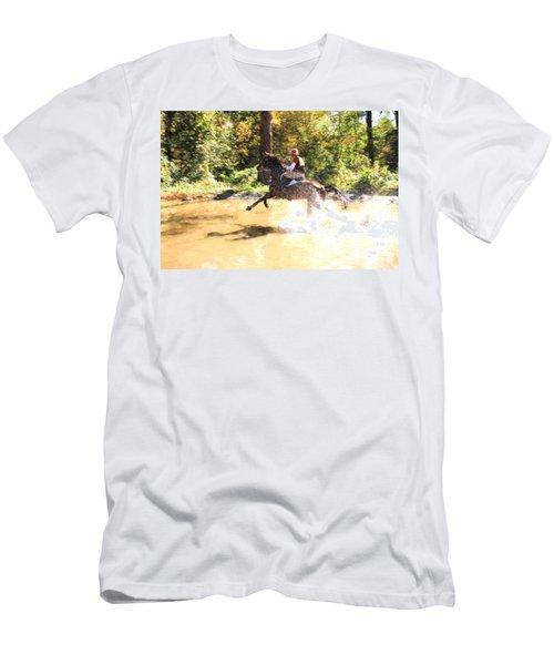 Splashes Men's T-Shirt (Athletic Fit)