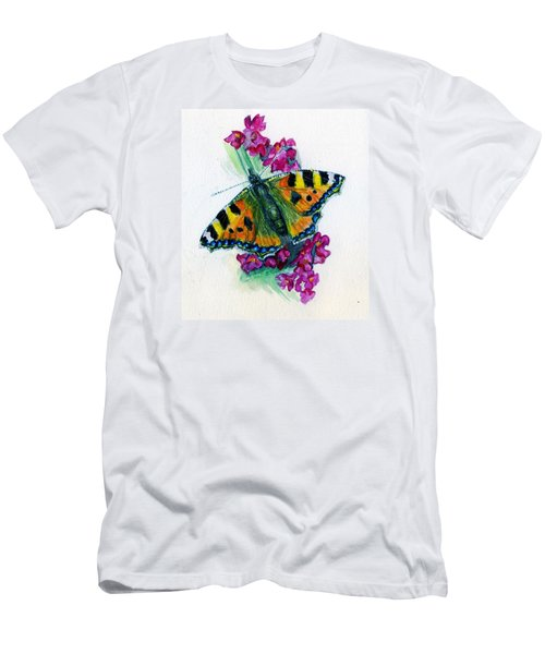 Spreading Wings Of Colour Men's T-Shirt (Athletic Fit)