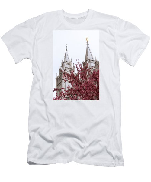 Spring At The Temple Men's T-Shirt (Athletic Fit)