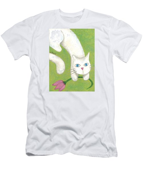 Spring Cat Men's T-Shirt (Athletic Fit)
