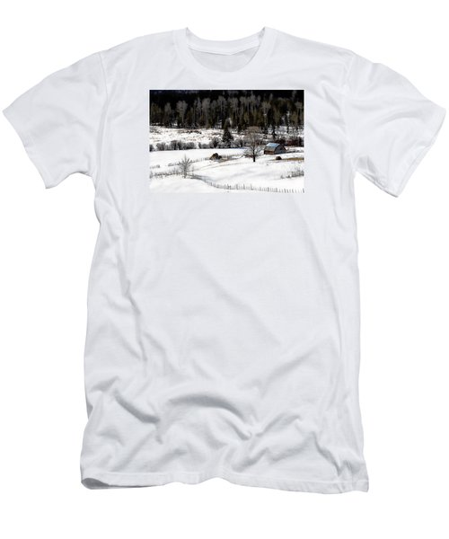 Spring Horizon Men's T-Shirt (Slim Fit) by Ed Hall