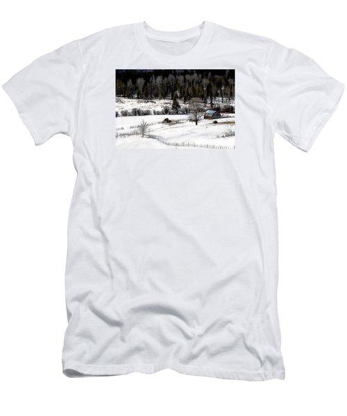 Spring Horizon Men's T-Shirt (Athletic Fit)