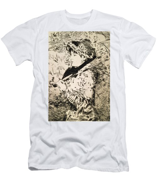 Spring   Jeanne Men's T-Shirt (Athletic Fit)