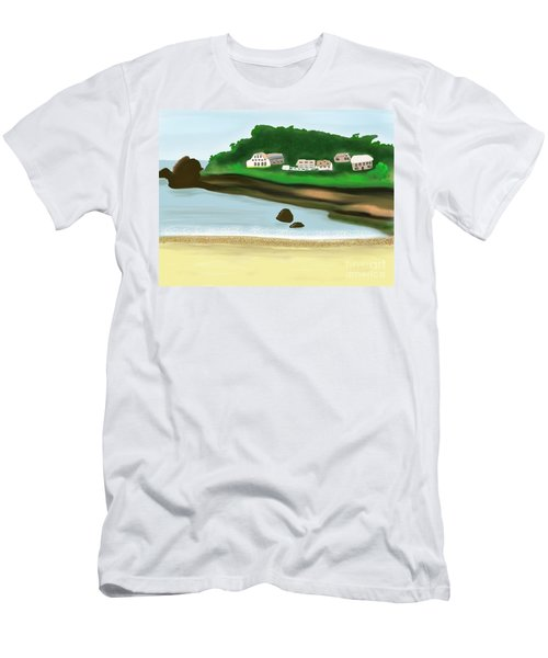 A Peaceful Life  Men's T-Shirt (Athletic Fit)