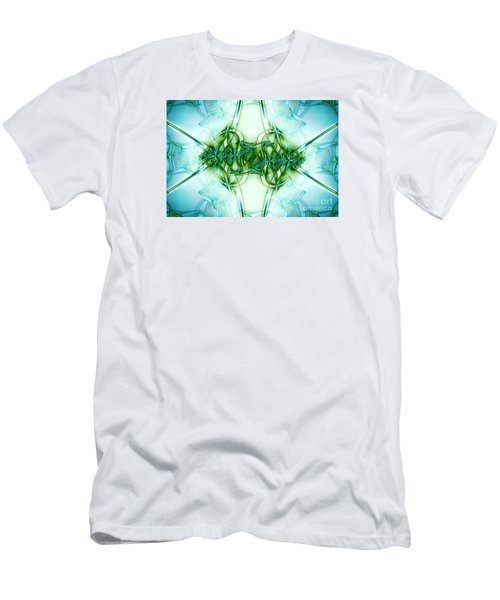 Stain Glass Men's T-Shirt (Slim Fit) by Lena Auxier