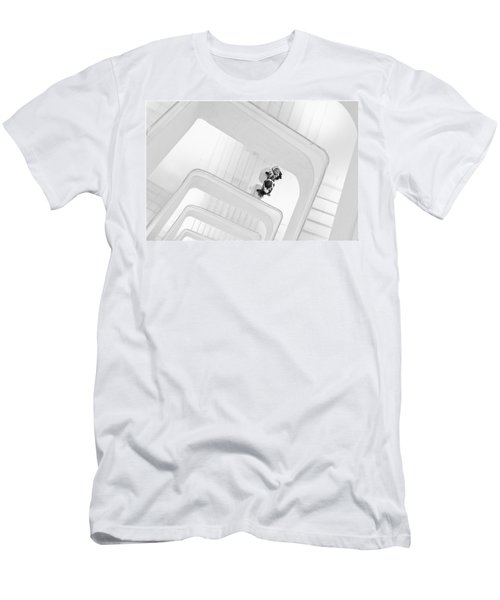 Stairs Men's T-Shirt (Athletic Fit)