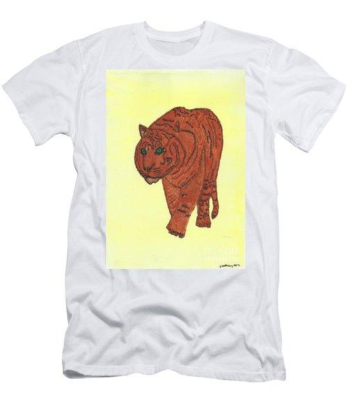 Stalking Tiger Men's T-Shirt (Athletic Fit)