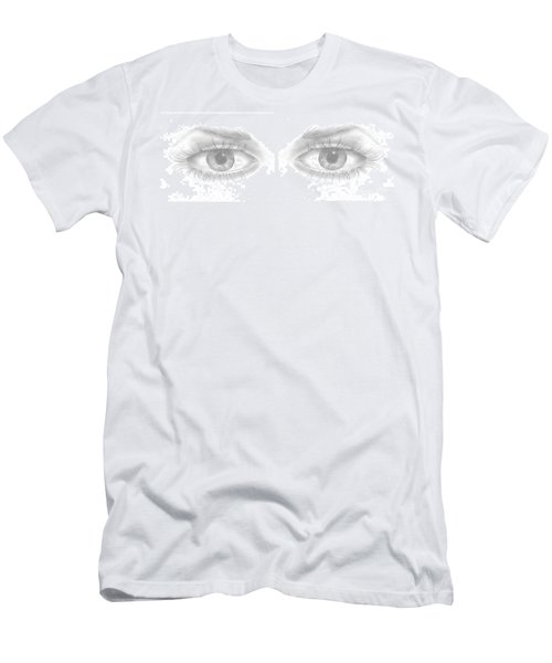 Stare Men's T-Shirt (Slim Fit) by Terry Frederick