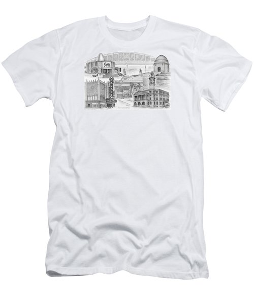 Stark County Ohio Print - Canton Lives Men's T-Shirt (Athletic Fit)