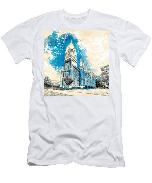 Stately Spires Men's T-Shirt (Athletic Fit)