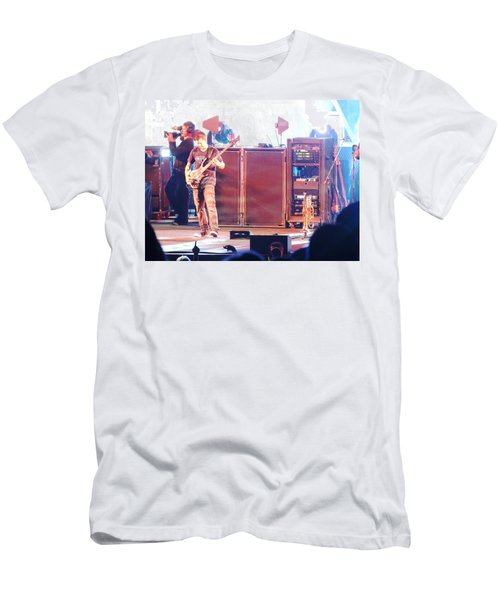 Men's T-Shirt (Slim Fit) featuring the photograph Stephan The Bass Player by Aaron Martens