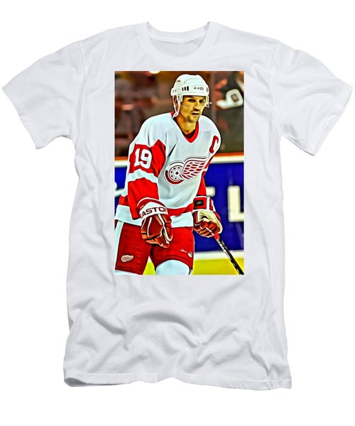 Steve Yzerman Men's T-Shirt (Athletic Fit)