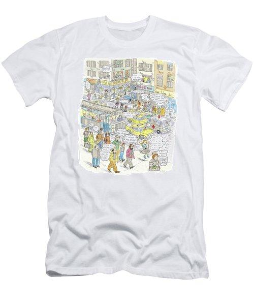 'stockopolis' Men's T-Shirt (Athletic Fit)