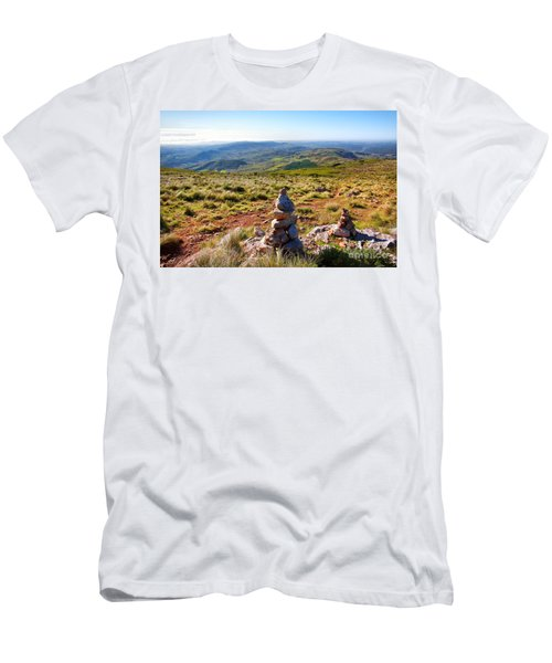 Stone Cairns Men's T-Shirt (Athletic Fit)