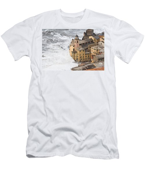 Storm In Camogli Men's T-Shirt (Athletic Fit)