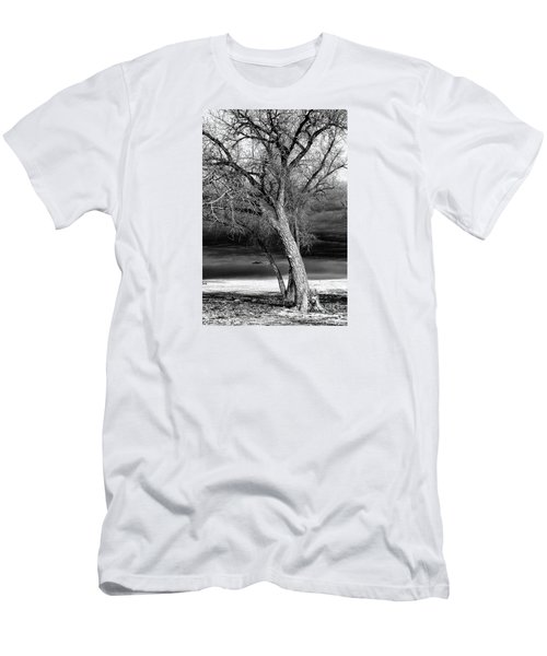 Storm Tree Men's T-Shirt (Slim Fit) by Steven Reed