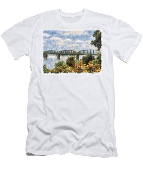 Strang Bridge Men's T-Shirt (Athletic Fit)
