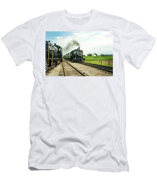 Strasburg Express Men's T-Shirt (Athletic Fit)