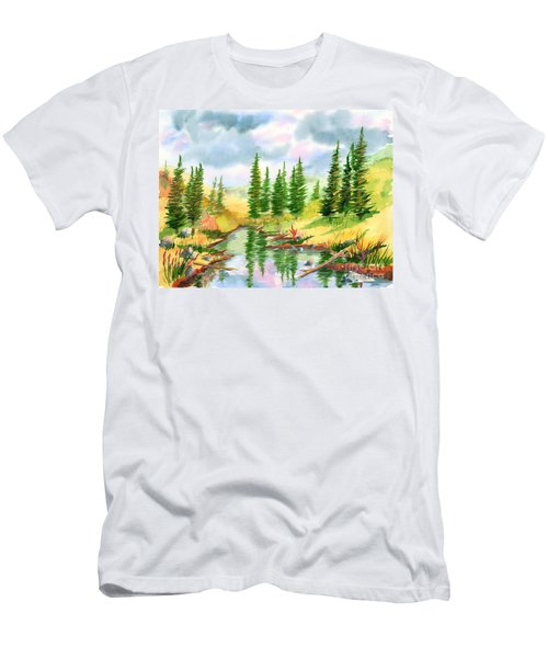 Strawberry Reservoir 2 Men's T-Shirt (Athletic Fit)