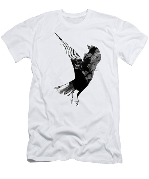 Street Crow Men's T-Shirt (Slim Fit) by Jerry Cordeiro