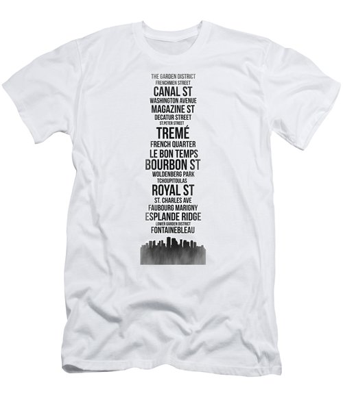 Streets Of New Orleans 3 Men's T-Shirt (Athletic Fit)