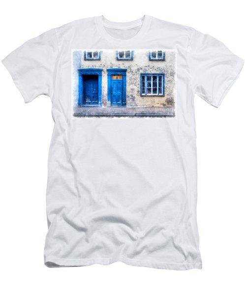 Streets Of Old Quebec 2 Men's T-Shirt (Athletic Fit)