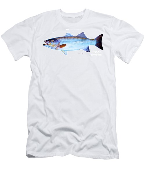 Striped Bass Men's T-Shirt (Athletic Fit)