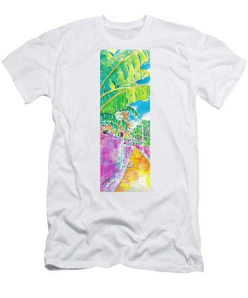 Strolling The Village Men's T-Shirt (Athletic Fit)