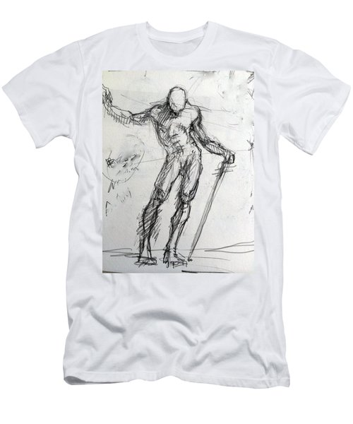 Study For St. Micheal Men's T-Shirt (Athletic Fit)