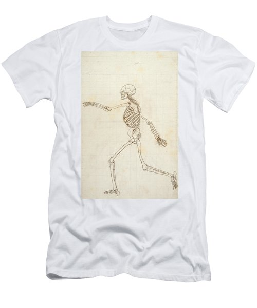 Study Of The Human Figure, Lateral View, From A Comparative Anatomical Exposition Of The Structure Men's T-Shirt (Athletic Fit)
