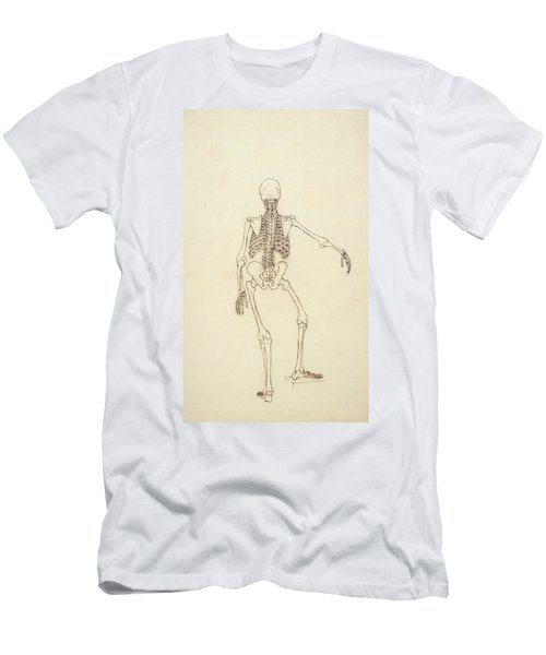 Study Of The Human Figure, Posterior View, From A Comparative Anatomical Exposition Men's T-Shirt (Athletic Fit)