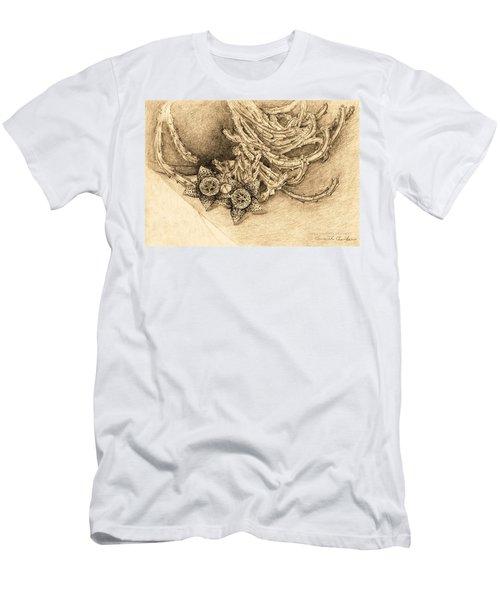 Succulent Flowers Men's T-Shirt (Athletic Fit)