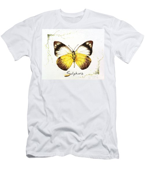 Sulphurs - Butterfly Men's T-Shirt (Athletic Fit)