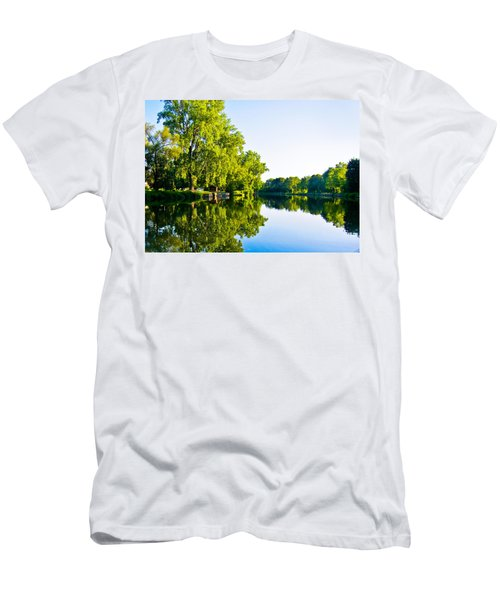 Summer Reflections Men's T-Shirt (Slim Fit) by Sara Frank