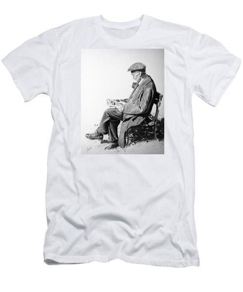 Sunday Edition Men's T-Shirt (Slim Fit) by Glenn Beasley