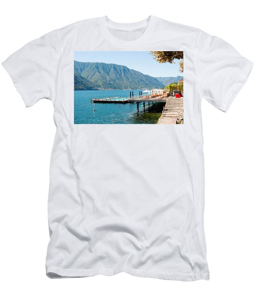Sundeck And Floating Pool At Grand Men's T-Shirt (Athletic Fit)