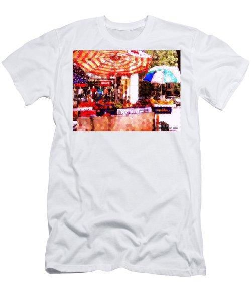 Men's T-Shirt (Slim Fit) featuring the photograph Sunkist by Miriam Danar