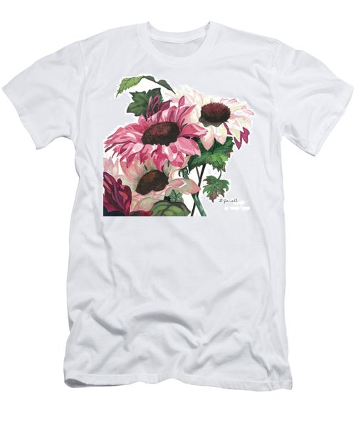 Men's T-Shirt (Slim Fit) featuring the painting Sunny Delight by Barbara Jewell
