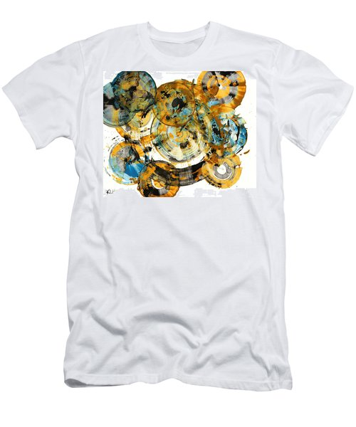 Men's T-Shirt (Slim Fit) featuring the painting Sunrise - 991.042212 by Kris Haas