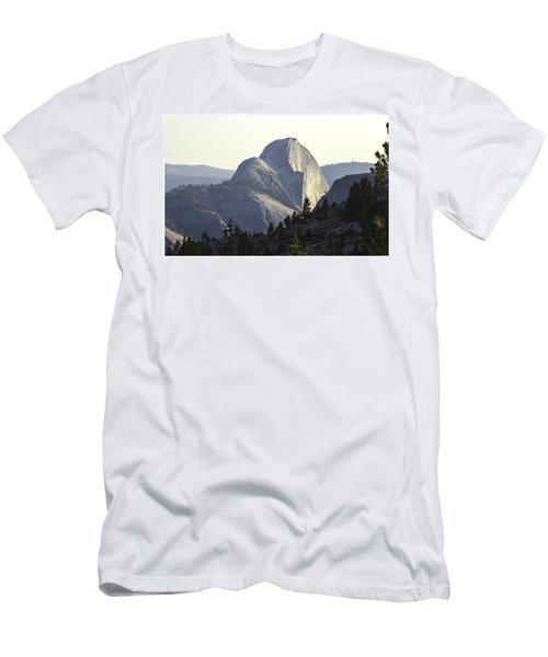 Sunset At Half Dome From Olmsted Pt Men's T-Shirt (Athletic Fit)